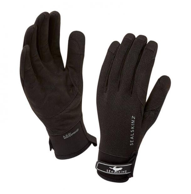 Перчатки водонепроницаемые SealSkinz Dragon Eye Gloves Black L
