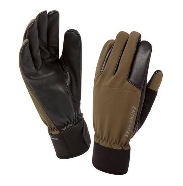 Перчатки водонепроницаемые SealSkinz Hunting Gloves Olive L