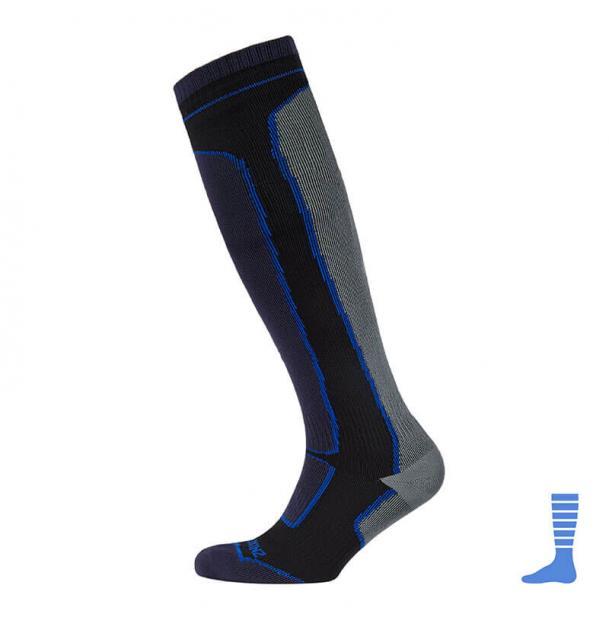 Носки водонепроницаемые SealSkinz Mid Weight Knee Length Sock L