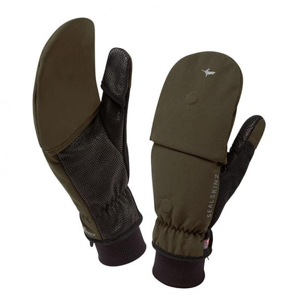 Варежки SealSkinz Outdoor Sports Mitten Olive S