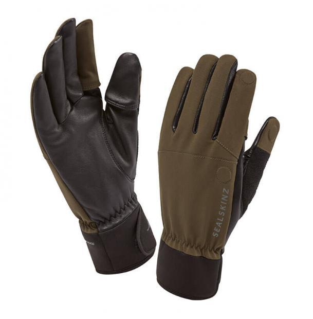 Перчатки водонепроницаемые SealSkinz Sporting Gloves Olive XL