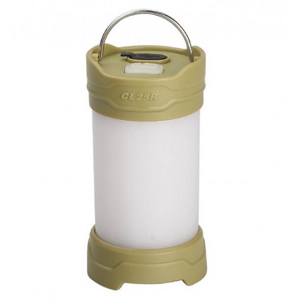 Фонарь-лампа Fenix CL25R Rechargeable Lantern Green