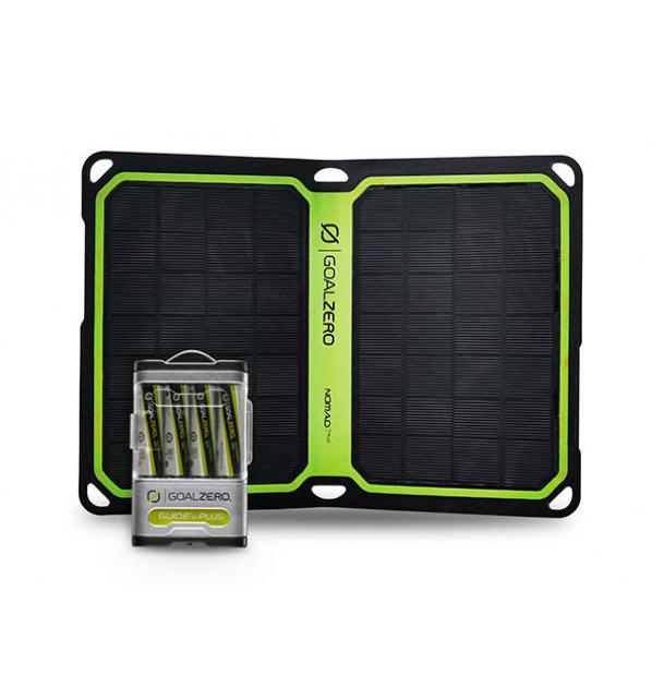 Комплект для зарядки Goal Zero Guide 10 Plus Solar Kit + Nomad 7 Plus