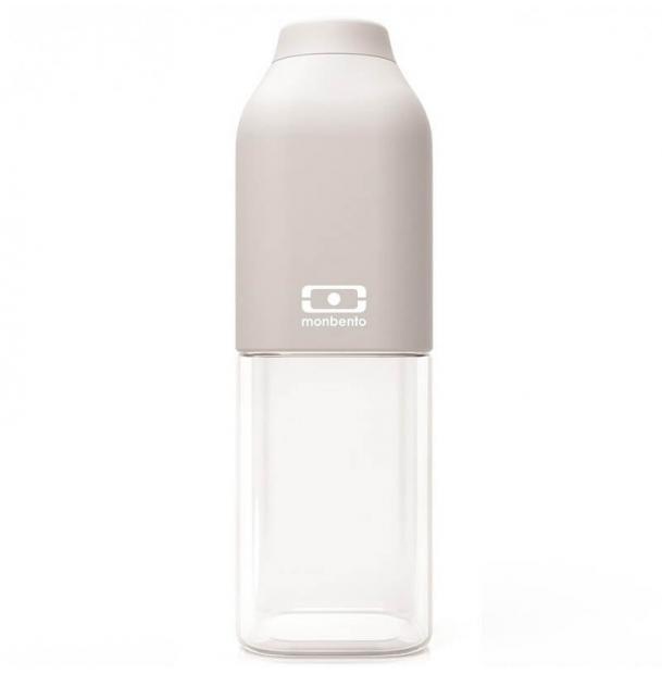 Пластиковая бутылка Monbento 0.5L MB Positive M Light Grey 1011 01 011