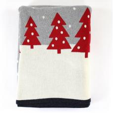 Плед EnjoyMe Christmas Story One, с орнаментом, en_ny0051, 130 х 180 см
