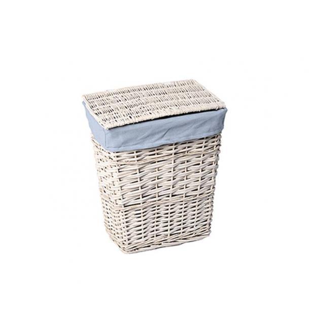 Плетеная корзина для белья с крышкой WasserKRAFT Lippe WB-450-S купить по цене 2790 руб.