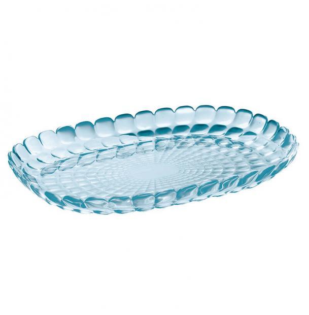 Поднос Guzzini Tiffany L голубой