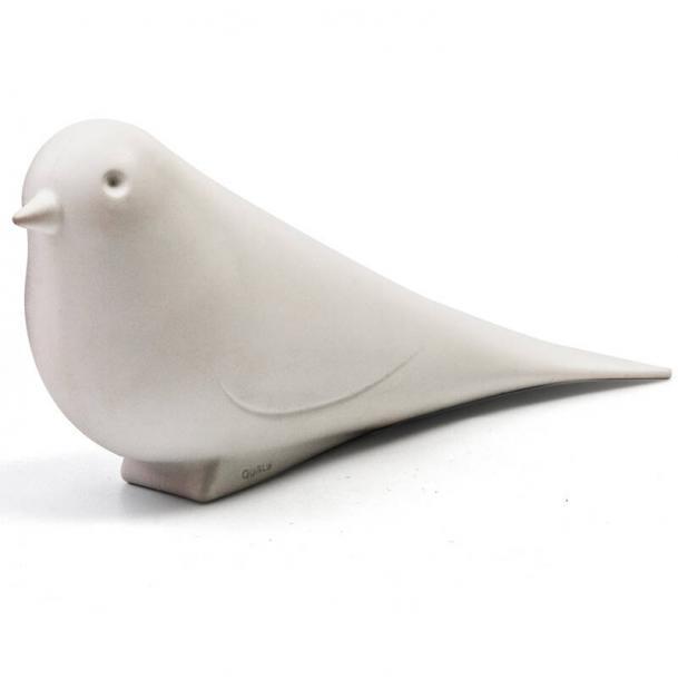 Подпорка для двери Qualy Dove белая