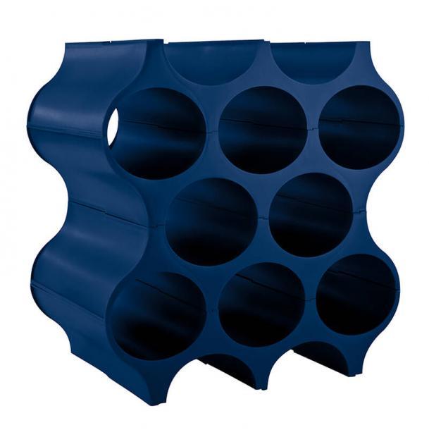 Подставка для бутылок Koziol Set-UP синяя