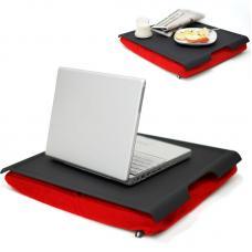 Подставка с пластиковым подносом Bosign Laptray черная-красная