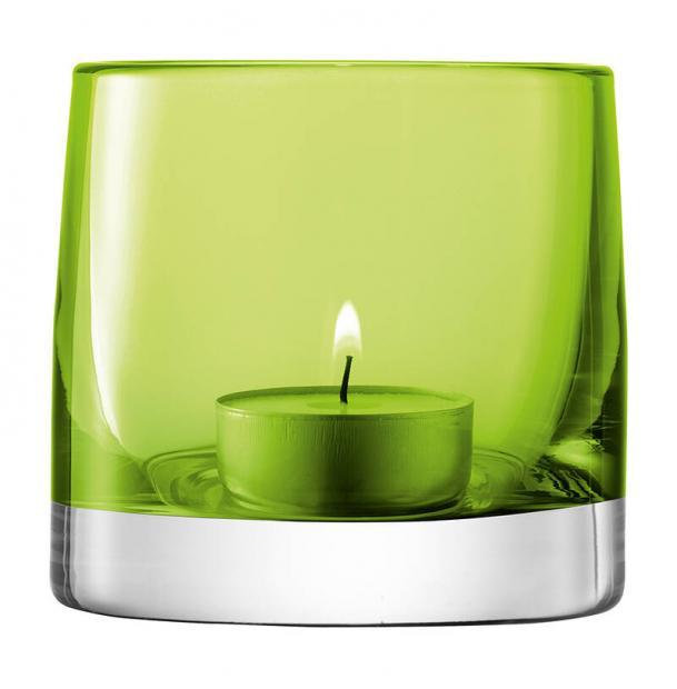 Подсвечник для чайной свечи LSA International Light Colour 85 см лайм