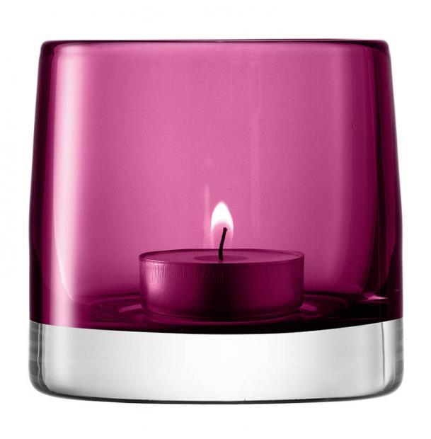 Подсвечник для чайной свечи LSA International Light Colour 85 см лиловый