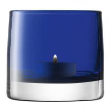 Подсвечник для чайной свечи LSA International Light Colour 85 см синий