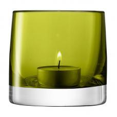 Подсвечник для чайной свечи LSA International Light Colour 85 см зелёный