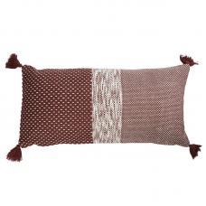 Подушка декоративная Tkano Ethnic бордовая
