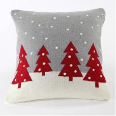 Подушка EnjoyMe с орнаментом Christmas story one, 45х45 см