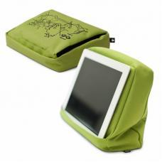 Подушка с карманом для планшета Bosign Hitech 2 зеленая-черная
