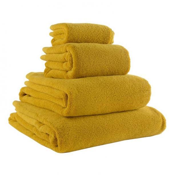 Полотенце банное Tkano горчичное Essential 70х140