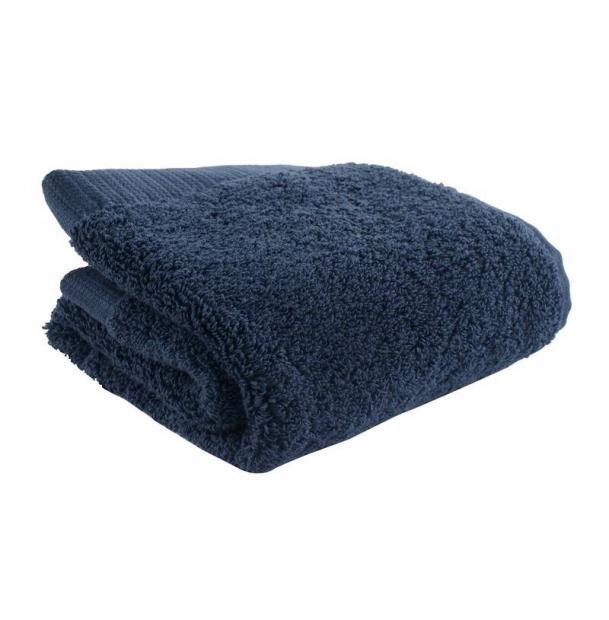 Полотенце для лица Tkano темно-синее Essential 30х50
