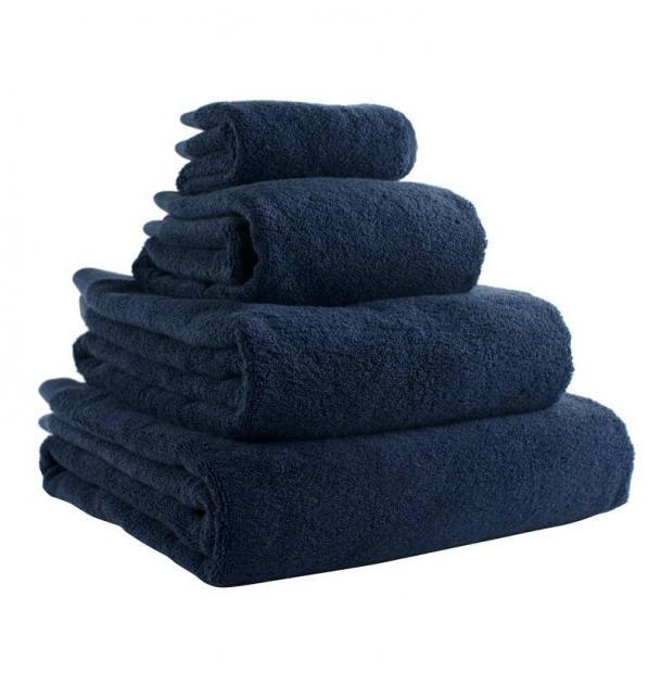 Полотенце для рук Tkano темно-синее Essential 50х90
