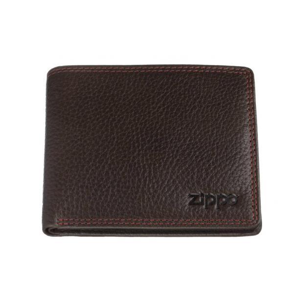 Портмоне ZIPPO коричневое 108x25x86 см
