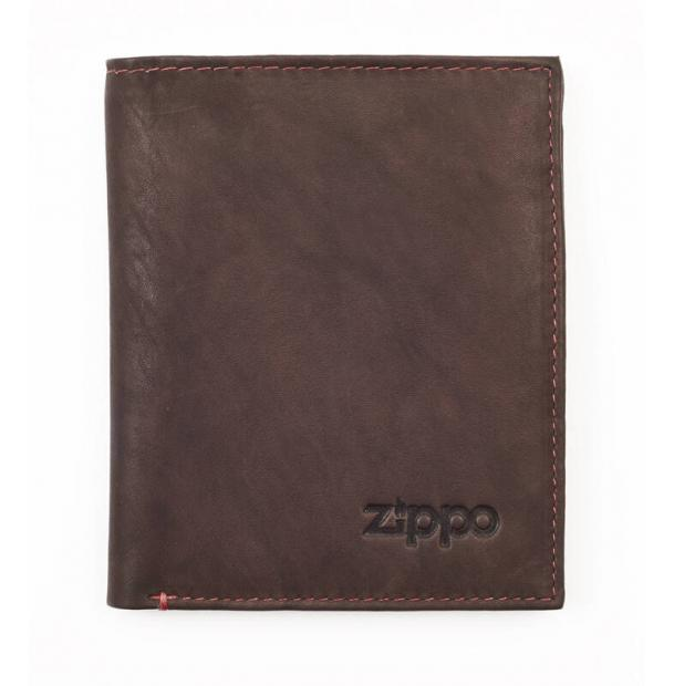 Портмоне ZIPPO коричневое 10x15x123 см