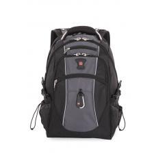 """Рюкзак SWISSGEAR 15""""чёрный/серый полиэстер 38 л"""