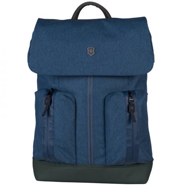 Рюкзак VICTORINOX Altmont Classic Flapover Laptop 15'', синий, полиэфирная ткань, 30x12x44 см, 18 л