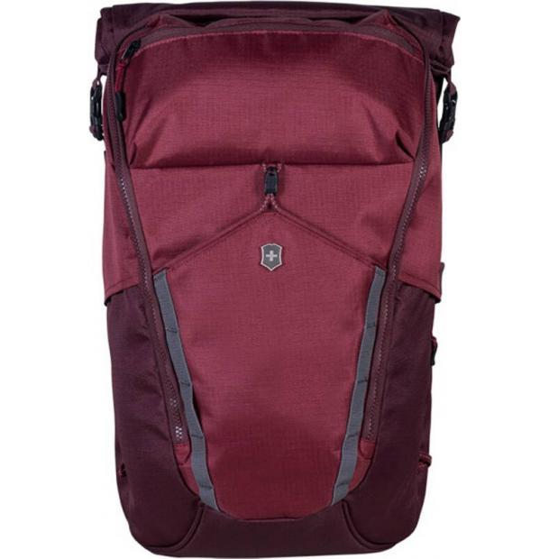 Рюкзак VICTORINOX Altmont Deluxe Rolltop Laptop 15'', бордовый, полиэфирная ткань, 29x18x48 см, 19 л