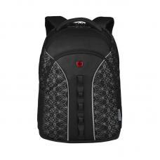 Рюкзак WENGER 16 610213 черный со светоотражающим принтом 27 л