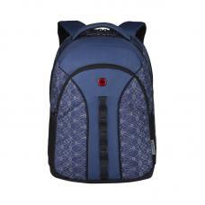 Рюкзак WENGER 16 610214 синий со светоотражающим принтом 27 л