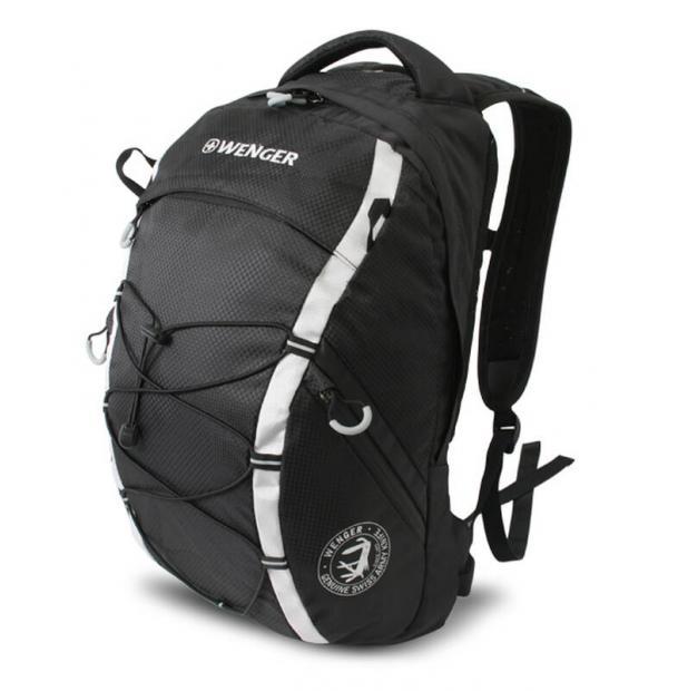 Рюкзак WENGER 30532499 черный/серый 25 л