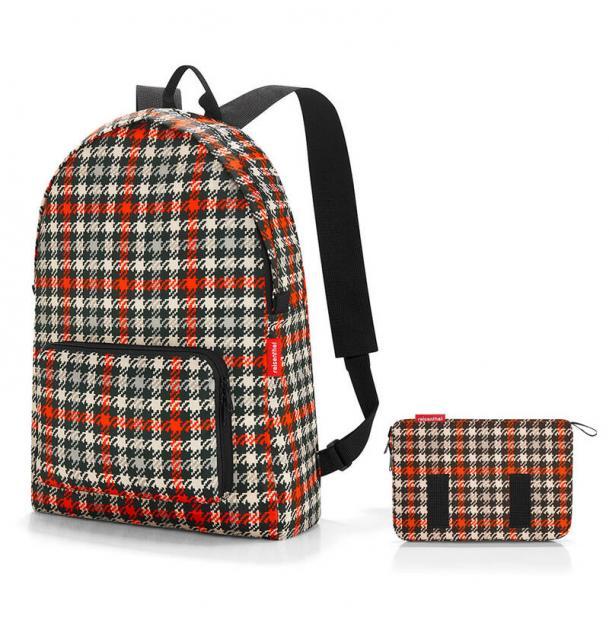 Рюкзак складной Reisenthel Mini maxi glencheck red