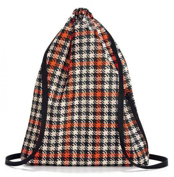 Рюкзак складной Reisenthel Mini maxi sacpack glencheck red