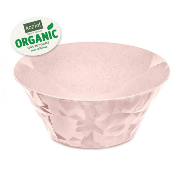 Салатница Koziol Club Bowl L Organic 35 л розовая
