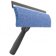 Швабра для мытья стекол и зеркал со сменной насадкой из микрофибры Nordic Stream
