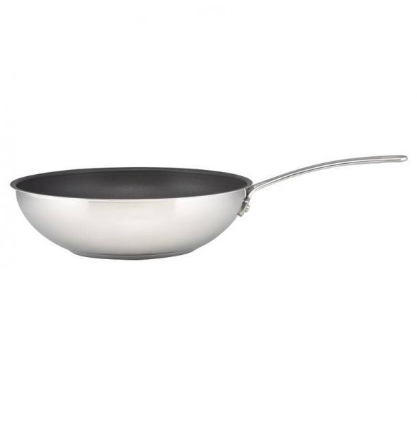 Сковорода-вок CIRCULON Genesis 30 см нержавеющая сталь