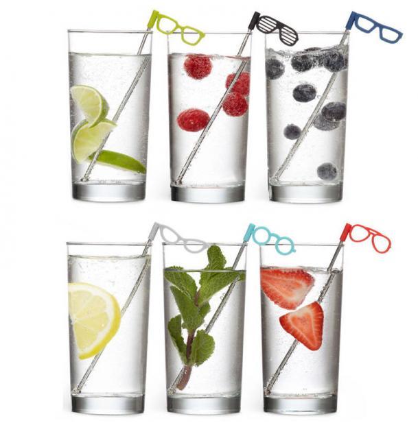 Соломинки Для Коктейля Umbra Glasses 6 шт.