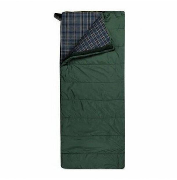 Спальный мешок Trimm Comfort TRAMP зеленый 195 R 44197