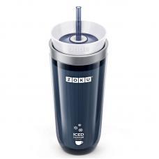 Стакан для охлаждения напитков Zoku Iced Coffee Maker серый