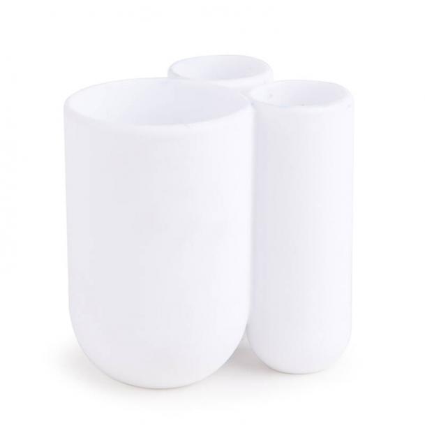 Стакан Для Зубных Щеток Umbra Touch Белый