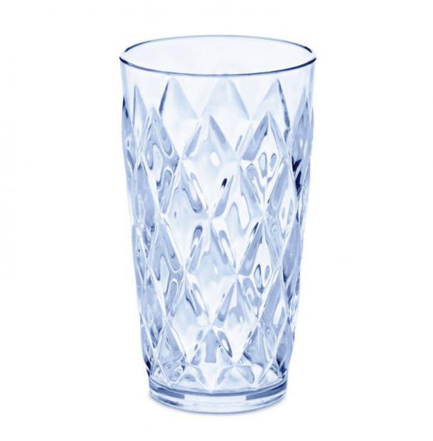Стакан Koziol Crystal L 450 мл голубой