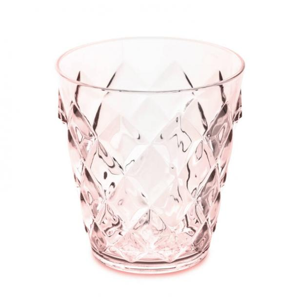 Стакан Koziol Crystal S 200 мл розовый
