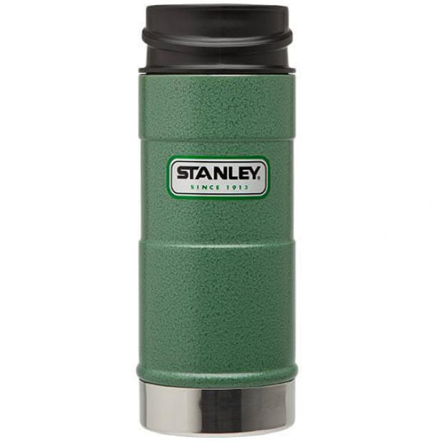 Термостакан Stanley Classic 0.35L One Hand Vacuum Mug Hammertone Green