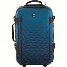 Сумка на колёсах VICTORINOX Vx Touring, синяя, ткани VX4 и VXTek, 35x20x55 см, 33 л