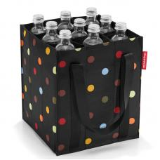Сумка-органайзер для бутылок Reisenthel Bottlebag Spots Black