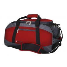 Сумка спортивная WENGER 52744165 красный/серый 39 л