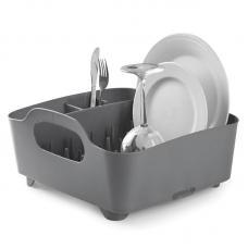 Сушилка Для Посуды Umbra Tub Тёмно-Серая