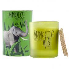 Свеча ароматическая Ambientair Elephant свежий Wild 40 ч
