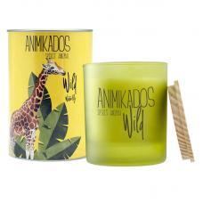 Свеча ароматическая Ambientair Giraffe водная лилия Wild 40 ч